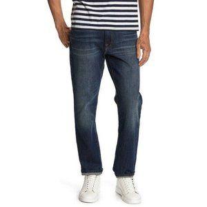 Lucky Brand Dark Wash 121 Slim Straight Jeans